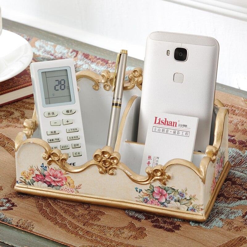 Пульт дистанционного управления ресивер, гостиная столешницы, мобильного телефона разное, коробка для хранения, чайный стол сортировки кор