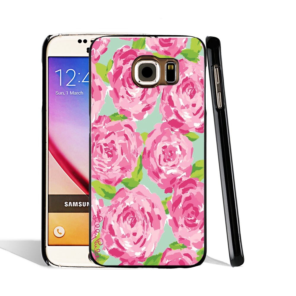 promo code 26e48 a039f US $3.98 |06660 Lilly Pulitzer Print cell phone case cover for Samsung  Galaxy S7 edge PLUS S6 S5 S4 S3 MINI on Aliexpress.com | Alibaba Group