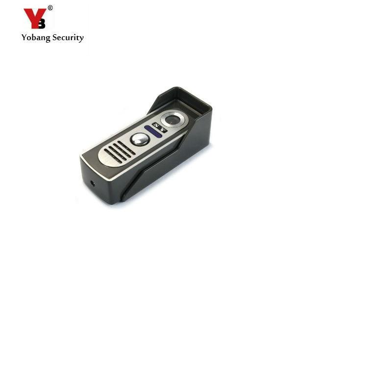 Yobang Security Outdoor Camera For Video Door Phone Wired Outdoor IR Camera Doorphone Intercom Only Work With Our Indoor Screen