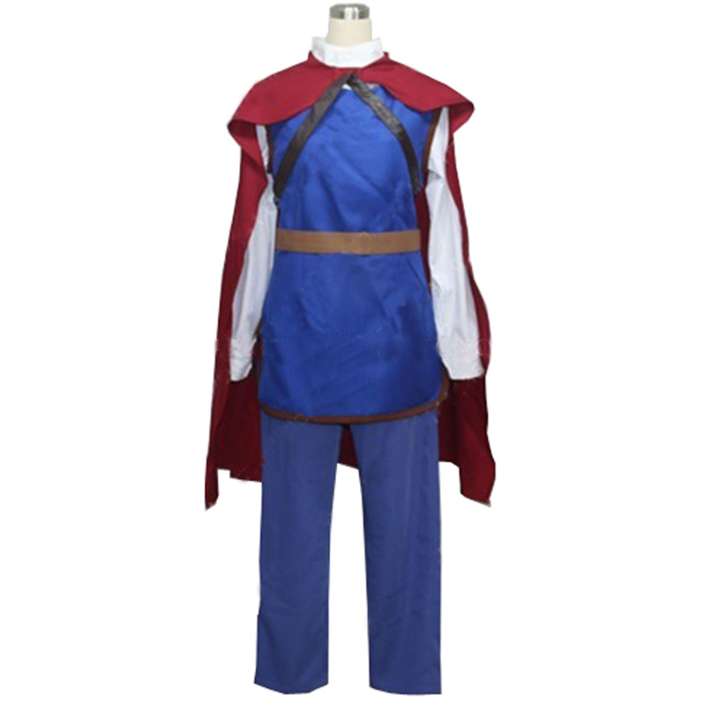 2017 Prince Charming Costume Custom Made Halloween Cosplay Costume From Snow White