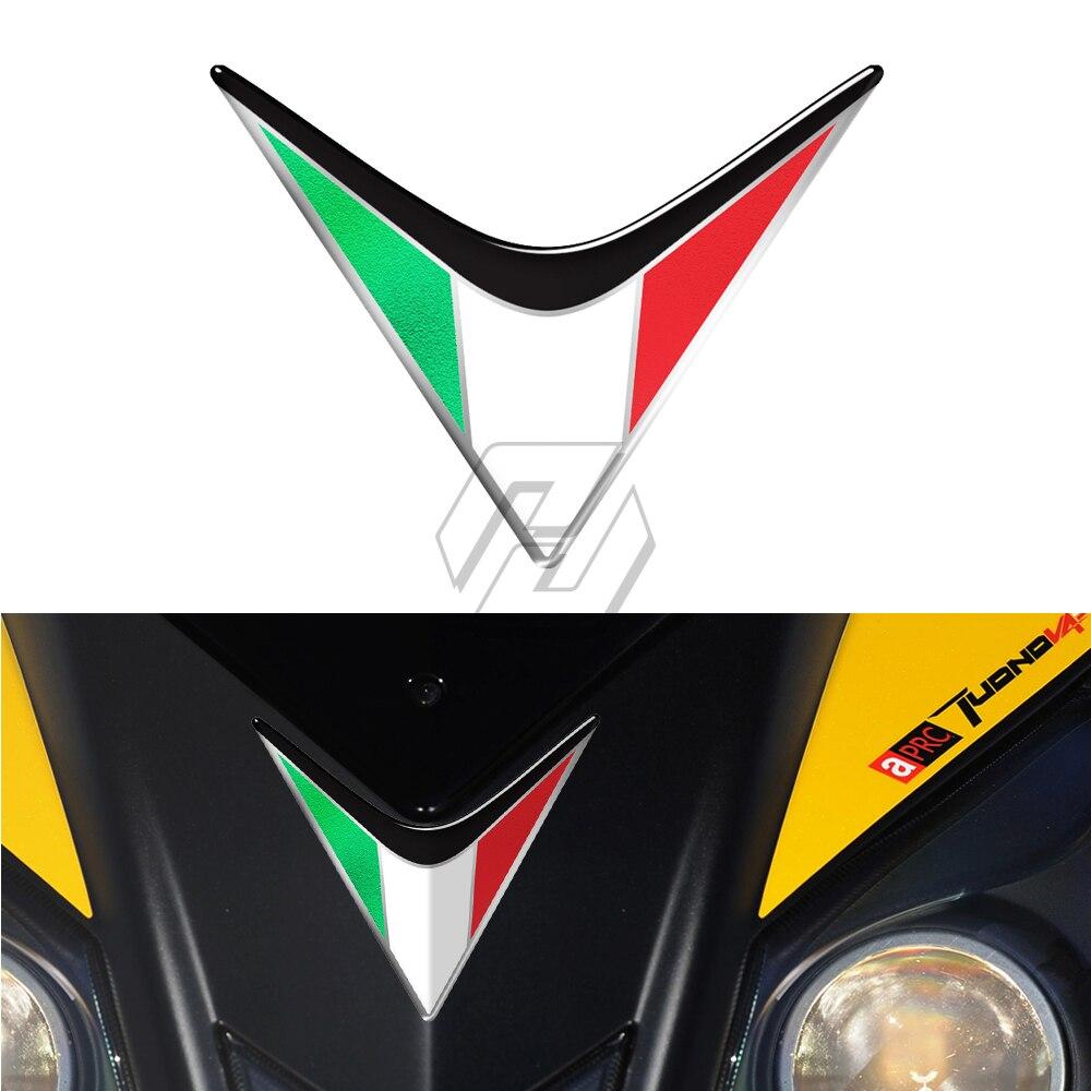 Decals for Aprilia TuonoV4 NEW LOGO! Stickers Italian Colours