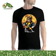 Super Monkey Warrior Men T-shirt XS-5XL NewStreetwear Funny Print Clothing Hip-Tope Mans T-Shirt Tops Tees Hot Sale Men T Shirt floral skull women t shirt s 3xl newstreetwear funny print clothing hip tope mans t shirt tops tees hot sale men t shirt fashion