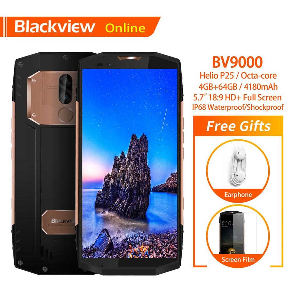 Blackview BV9000 5.7 inch IP68 Waterdichte Smartphone 4 GB + 64 GB Helio P25 Octa Core FHD 18:9 4180 mAh 13.0MP NFC 4G Mobiele Telefoon-in Mobiele Telefoons van Mobiele telefoons & telecommunicatie op AliExpress - 11.11_Dubbel 11Vrijgezellendag 1