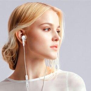 Image 4 - HUAWEI słuchawki CM33 USB type c w ucho przewodowy mikrofon regulacja głośności zestaw słuchawkowy dla huawei Mate 10 Pro P20 Por P30 Pro