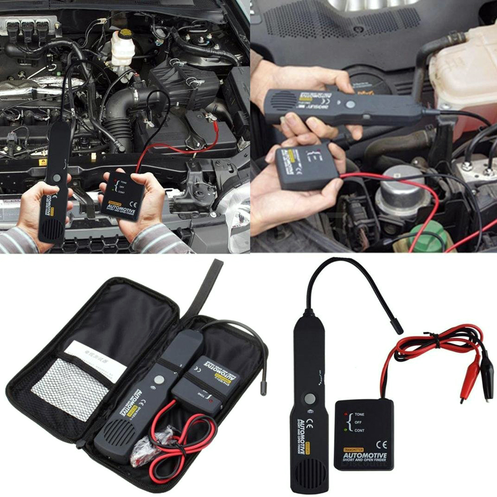 Universal Automotive Cable Wire Tracker Short Open Finder Digital Repair Circuit
