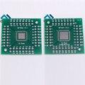 3 шт. QFN56 QFN64 Плата Адаптера QFN Для DIP 0.5 мм Контактный Пространство Pinboard Преобразование Пластины ПЕЧАТНОЙ ПЛАТЫ