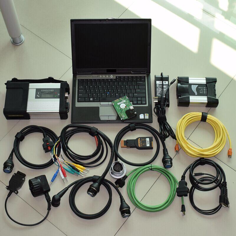 2018 nuovo per bmw icom prossimo a b c icom a2 + mb stella c5 sd c5 connect multiplexer + software 2018.12 v in 1 tb hdd + del computer portatile D630 PIENO