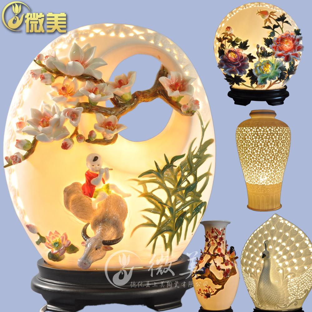 White porcelain lamp lamp hollow hollow Flowers Chinese living room lamps Home Furnishing ceramic decorative arts and crafts Clu g2 pro win10 mini pc intel z3735f 1 8ghz 32gb storage ddr3l 2gb ram mini desktop page 7