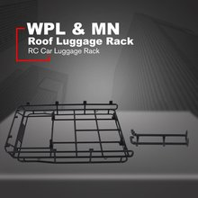 Metal Roof Luggage Rack Carrier Accessories For WPL & MN RC Crawler Succession Car Parts