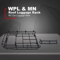 Rack de bagagem para teto de metal  acessórios para carros com isca  sucesso  rack para bagagem de carro rc