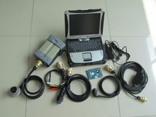 mb star c3 diagnosis with software with laptop cf-19 touch screen 120gb hdd ready to use