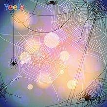 Yeele Хэллоуин фотосессия Декор cobweb боке свет фотография