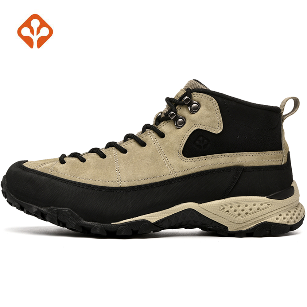 SALAMAN Men's Winter Leather Outdoor Hiking Trekking Shoes Sneakers For Men Climbing Mountain Shoes Sneakers Man Senderismo merrto men s sports leather outdoor hiking trekking shoes sneakers for men wearable climbing mountain shoes man senderismo