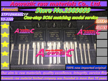 Aoweziic 2018 + 100% ใหม่นำเข้าเดิม STP10NK60ZFP 10NK60Z TO   220 MOS field effect liquid หลอดคริสตัล 10A 600 โวลต์