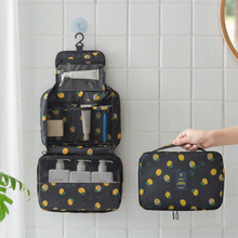 Waterproof Portable Oxford Travel Cosmetic Bag Neceser Hanging Wash Bag Neutral Make Up Bag Organizer Bathroom Wash Bag