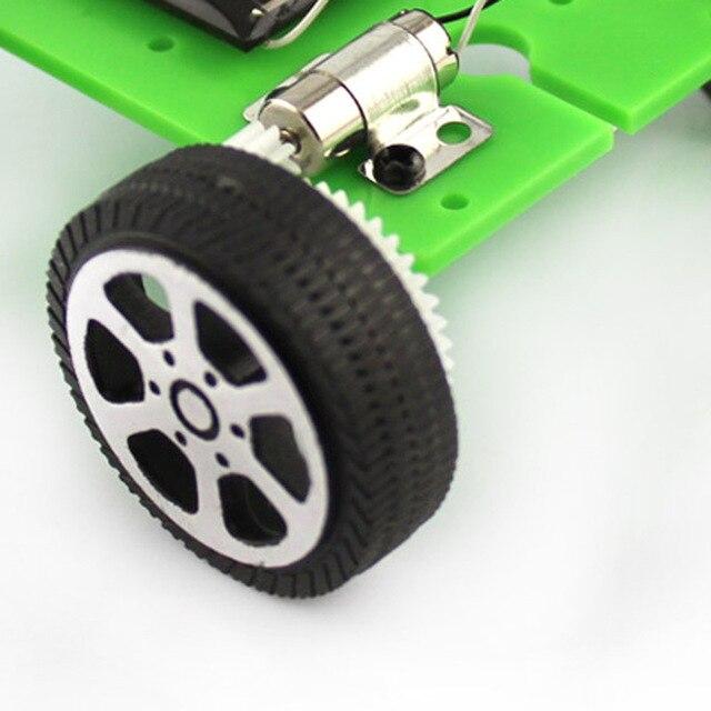 New Kids Solar Toys Energy Crazy Mini Solar Powered Toy DIY Car Solar Power Robot Children Educational Gadget Interactive toys 5
