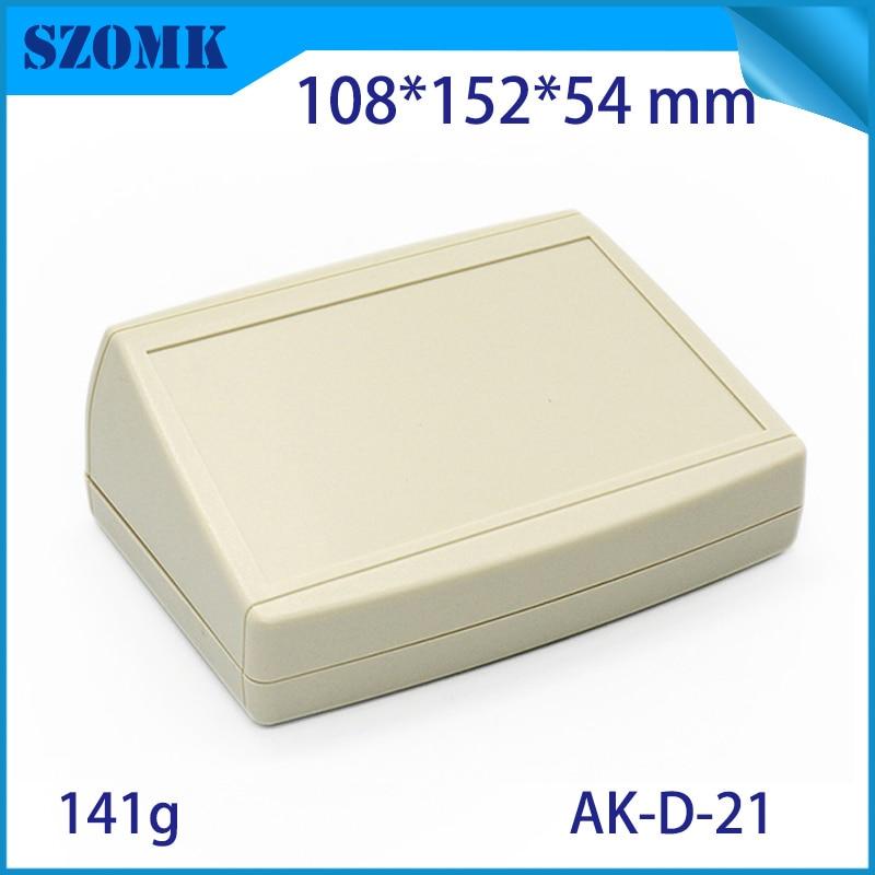 10 pcs 108 152 54mm szomk plastic customizable instrument project box desktop plastic enclosure housing for