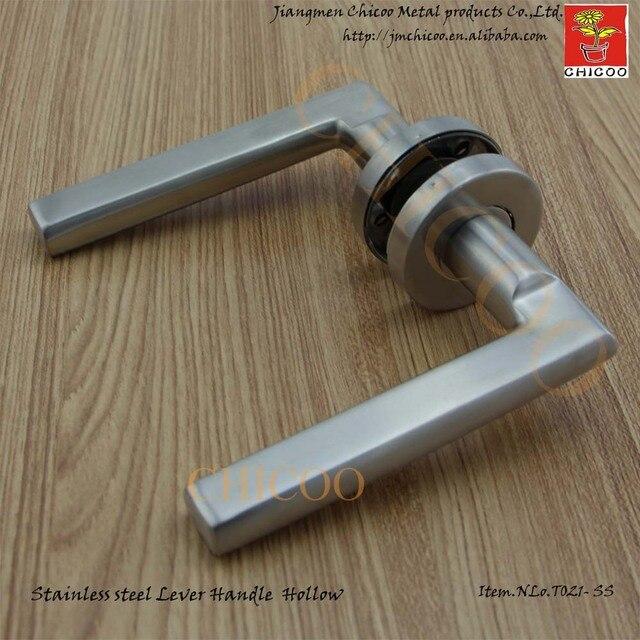 Door Ironmongery Stainless Steel 304 Door Lever Handles, Entry Door Handles,industrial  Lever Door