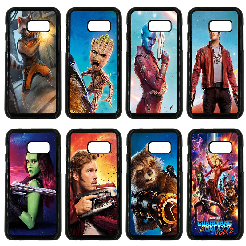 Guardians of the Galaxys Mobile Phone Case Hard PC Cover for Samsung Galaxy A3 A5 A7 A8 2015 2016 2017 2018 Note 8 7 5 3 Shell