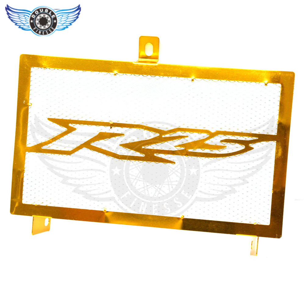 new  Motorcycle Stainless Steel Radiator Guard Protector Grille Grill Cover golden for yamaha yzf-25 yzf r25 2015 2016 15 16 arashi motorcycle radiator grille protective cover grill guard protector for 2008 2009 2010 2011 honda cbr1000rr cbr 1000 rr