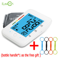 Ultra thin Digital Automatic Sphygmomanometer Arm Blood Pressure Monitor Micro USB Tonometer Health care blood pressure Meter