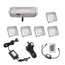 waterproof exterior led lawn lamp recessed outdoor lighting underground light rgbbluewarm white