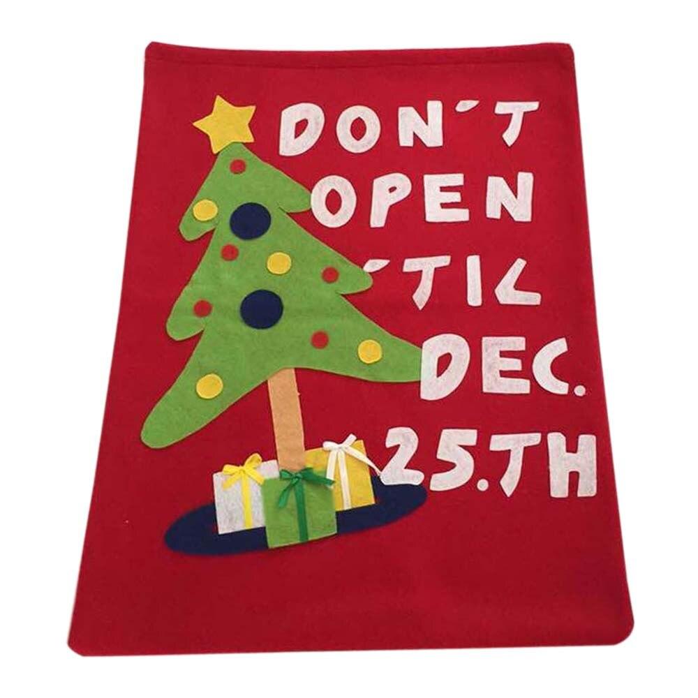 Sleeper #401 2018 NEW FASHION DA  Cute Drawstring Tree Santa Claus Christams Gift Bag Decorations Drawstringbag Free Shipping