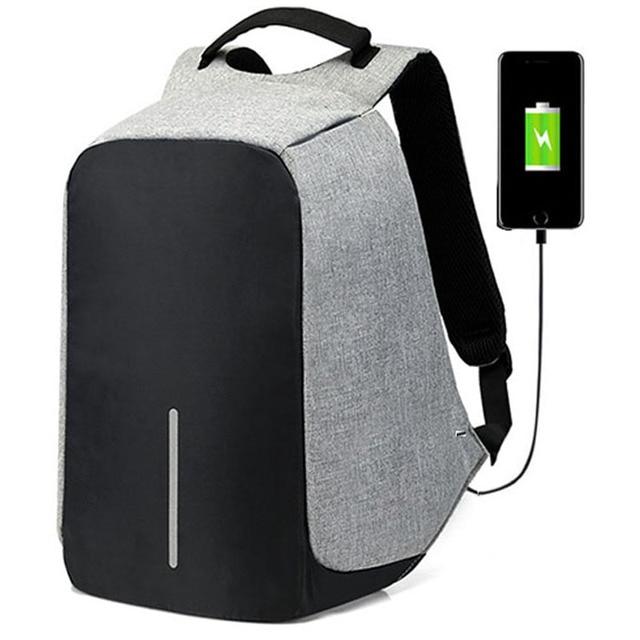 15 inch Laptop Backpack USB Charging Anti Theft Backpack Men Travel Backpack Waterproof School Bag Male Mochila 1