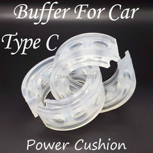 2 Unids/caja Material de Uretano de Alta Calidad Tipo C Auto Muelle del Amortiguador de Energía Buffer Para Coche, comercio al por mayor de Piezas de Automóviles
