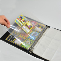 35 Pages/Set 630 Cards Capacity Cards Holder Albums Board Game Cards Page Trading Card Protector For Pokemoon CCG MTG Yugioh