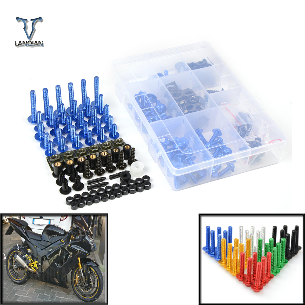 Motorcycle Accessories Fairing windshield Body Work Bolts Nuts Screws For Honda VFR NC 700 750 800 1200 F VFR750 VFR800 VFR1200 new universal brand motorcycle accessories fairing body work bolts screws for suzuki m109r boulevard ducati diavel the devil