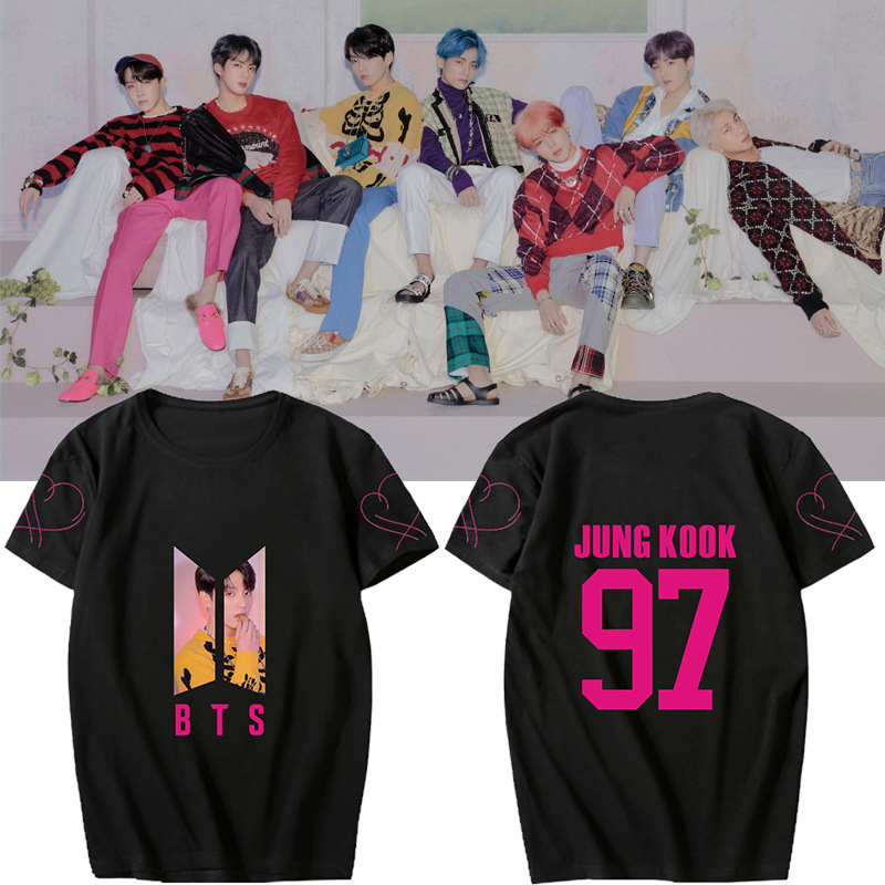 BTS MAP OF THE SOUL PERSONA Bulletproof Youth League album around the same paragraph should support short-sleeved T-shirt