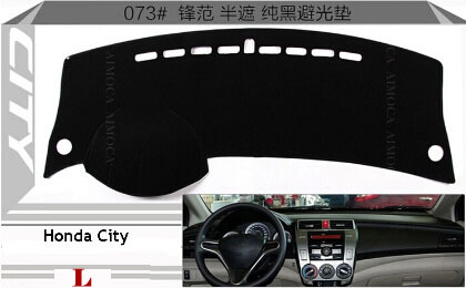 Car Dashboard Avoid Light Pad Instrument Platform Desk Cover Mats Carpets Auto  Accessories For Honda City