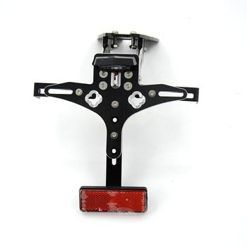 Motorcycle CNC Aluminum Adjustable License Plate Holder Bracket Support For Honda CB1000R Hornet 2009 2010 2011 2012 2013 2014