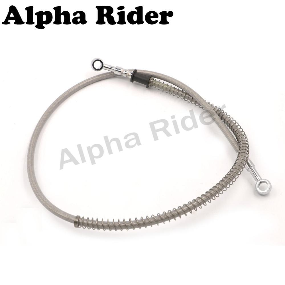 70 75 80 85 90 95 100 110 120 130 140 150 180 220 240 CM Braided Cables Oil Line Fuel Hose Offroad Hydraulic Brake Clutch Levers