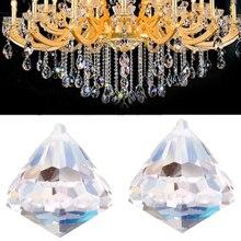 1 шт. 30 мм искусственный кристалл подвесной светильник кулон блеск капля полировка для люстры домашнее украшение