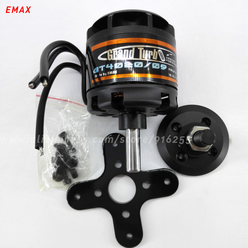 все цены на EMAX rc 620kv brushless motor outrunner model airplane engine 8mm shaft 5-6s for aircraft electric vehicle accessory онлайн