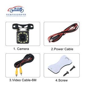 Image 4 - Auto Backup Kamera 4 8 12 LED licht nachtsicht rückfahr mit parkplatz linie IP68 wasserdichte Rückansicht Kamera