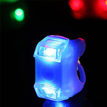 MTB Bike Cycling Bicycle Silicone LED Lamp Warn Bright Flashing Light