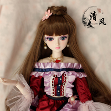 лучшая цена FULL SET Top quality 1/3 bjd girl 60cm pvc doll wig clothes all included night lolita reborn baby doll mengdy best gift kid toy