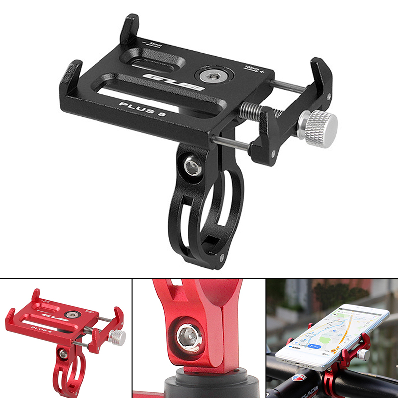 2X LOT Rotating Bicycle Bike Handlebar Stem Clip Mount Holder Stand Mobile Phone