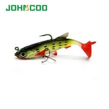 4pcs Soft Bait Fishing Lure 8cm/14g Artificial Sea Bass Killer Soft Lead Wobbler 4Colors Fishing Tackle pesca