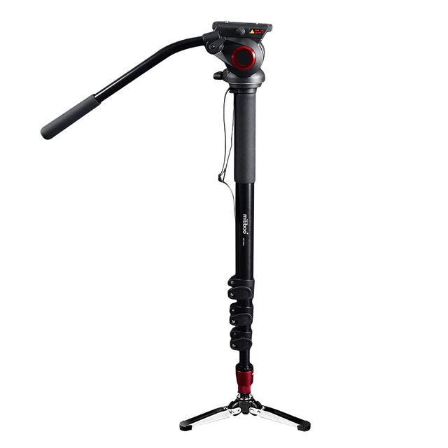 Miliboo MTT705A Алюминиевого Сплава Портативный Монопод и Штатив Для Профессиональной Видеокамерой/Видео/DSLR Стенд. Половину Цены Manfrotto