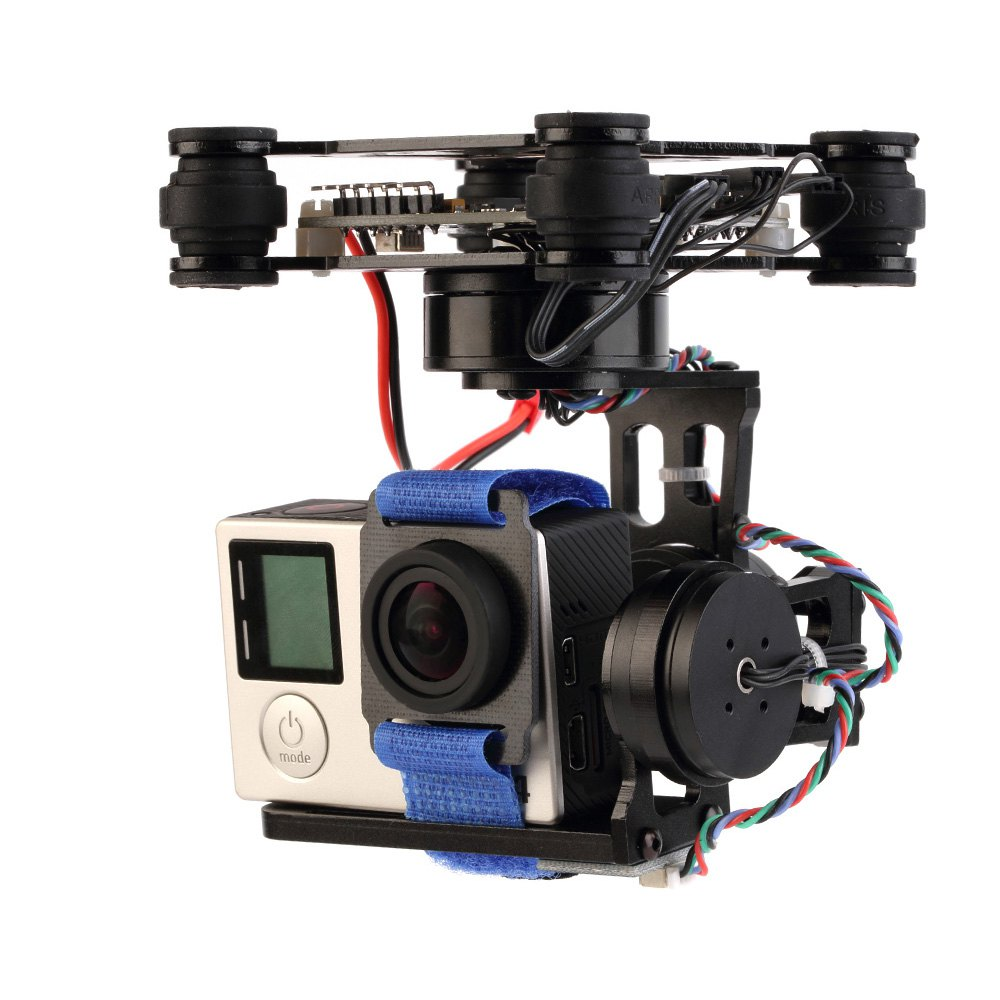 Toys Accessory 3 Axis Brushless Gimbal with 32bit Storm32 Controller for Gopro 3 4 Camera Compatible for Gopro 4/3/2/1 Toy Apart метчики 1 4 32