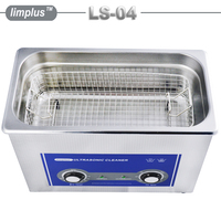 Limplus 4.5L Ultrasonic Cleaner Bath Knob Control Washing Machine Cleaning Electronic Components Mechanical Parts Firearms