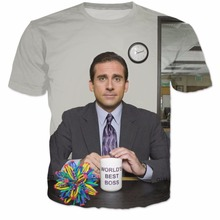 Prison Mike Michael Scott Meme T-Shirt Dwight Schrute Tees Women Men Funny 3D Print T Shirt Michael scott Mona Lisa Tee Tops