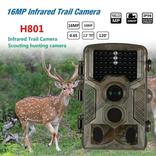 مصغرة 16MP 1080 وعاء الصيد تريل كاميرا TFT-LCD المهنية الحياة البرية للماء كاميرا ل النهار الليل مع كلمة USB كابل