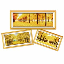 Everlasting love Golden autumns Ecological cotton chinese Cross Stitch kits 11CT stamped  DIY gift new year decorations for home forty autumns
