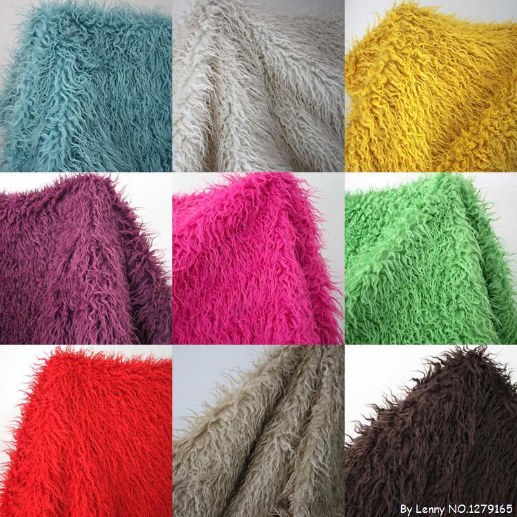 Hot Selling Faux Fur Fabric Yard, Fashioon Fur Coat Fabric Fur Cushion,faux Fur Fabric Material Free Shipping