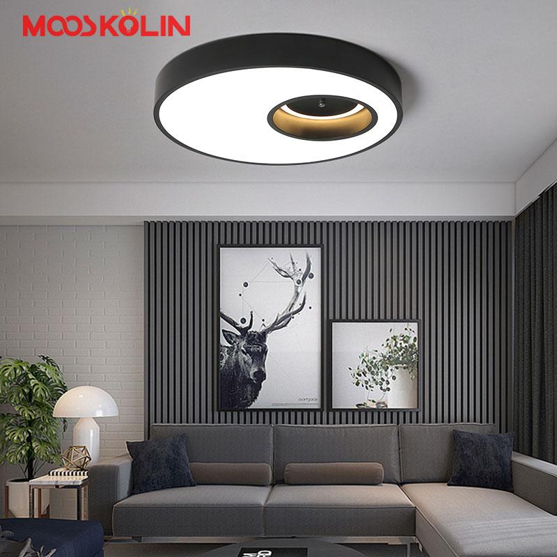 White or Black Modern LED Ceiling Light fixtures for living room Bedroom Dining room Kitchen luminaria de teto LED Ceiling Lamp